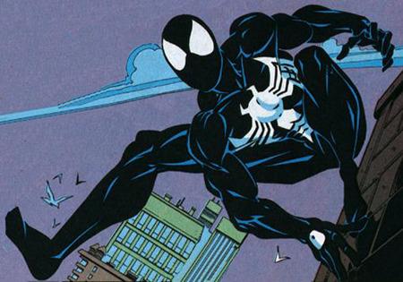 Symbiote Suit Spiderman on the run - Battles - Comic Vine