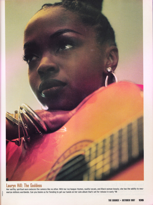 Dear Lauryn Hill, make more music please.