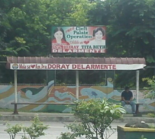 """free cleft palate operation"" from Kon. Dra. Doray Delarmente via @nixcnix"