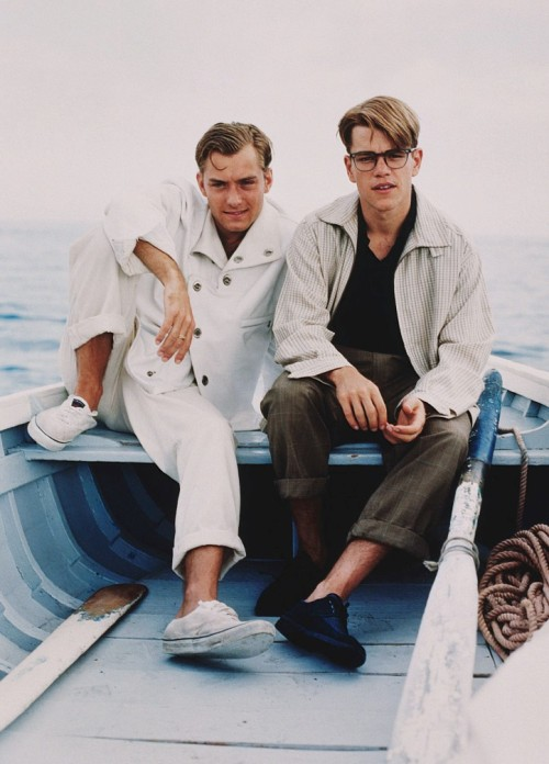 lszk:  Jude Law and Matt Damon, The Talented Mr. Ripley.