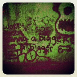 Worry about having a bigger heart not a bigger dick (Taken with Instagram)