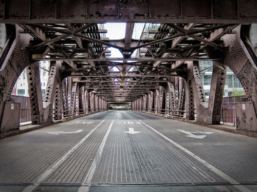 Wells Street Bridge by N_C_G on Flickr.
