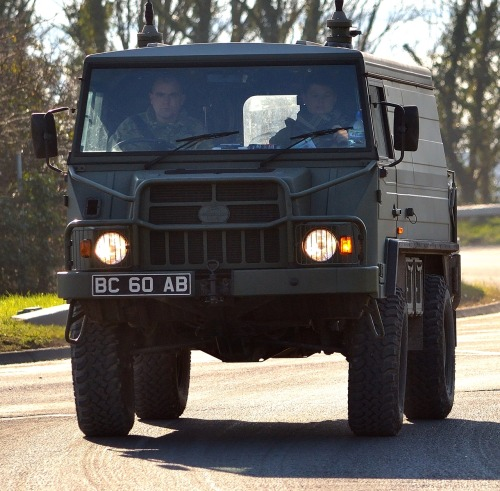 Pinzgauer High Mobility All-Terrain Vehicle (via Mark-Hobbs)
