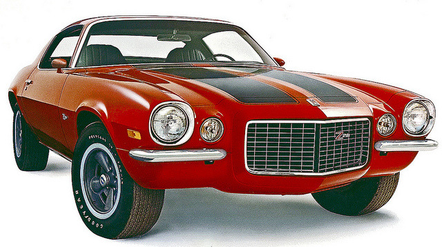 chromjuwelen:  1971 Chevrolet Camaro Z28 Sports Coupe  by coconv on Flickr. 1971 Chevrolet Camaro Z28 Sports Coupe