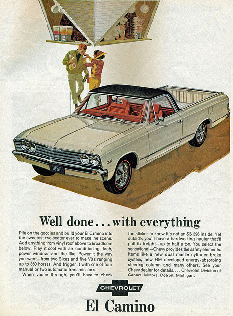 1967 Chevrolet El Camino Super Sport Pickup Truck   by coconv on Flickr.1967 Chevrolet El Camino Super Sport Pickup Truck