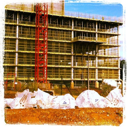 Place looks like a Building Site… #chiswickpark  (Taken with Instagram at Chiswick Business Park)