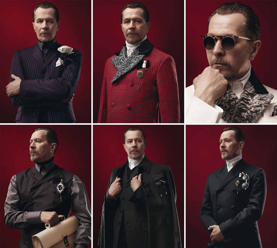 Gary Oldman - Prada Menswear Fall/Winter 2012-13 by David Sims