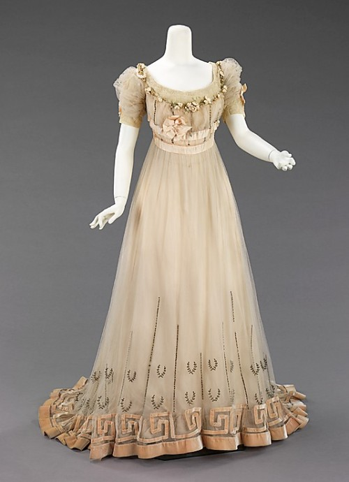 Dress Jeanne Paquin, 1905-1907 The Metropolitan Museum of Art