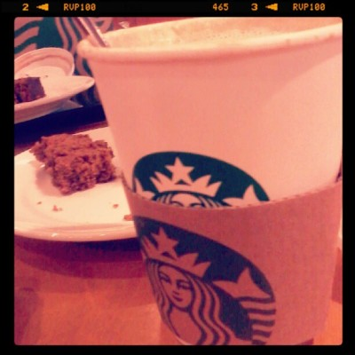 #coffee #banana loaf #starbucks (Taken with Instagram)