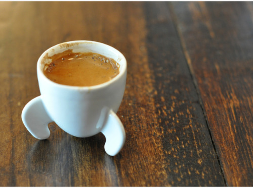 Rocket shape espresso cup -  well now you're talking. Awesome product design!