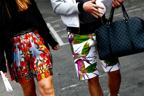 Givenchy shorts on point