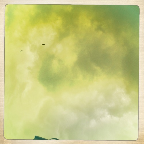 There are actually clouds in the Roman sky! Jimmy Lens, Ina's 1969 Film, No Flash, Taken with Hipstamatic