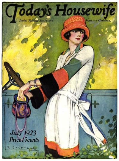 lauramcphee:  Today's Housewife, July 1923 (Ruth Eastman)