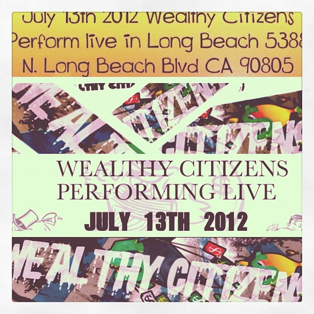 Spread the word!!! #wealthycitizens  (Taken with Instagram)