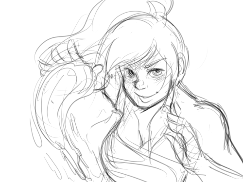 really fast korra doodle because I JUST REALIZED THAT WHEN MY COMP RESTARTED LAST NIGHT I LOST THIS EPIC ASS AVATAR STATE DRAWING I HAD OPEN FOR LIKE THE LAST THREE DAYS fJSDKfklsjfklsjfklsjkfsfjsklfdsFSJKfldsjlfs MOURNING