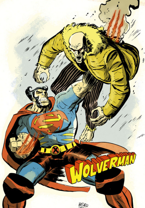 Wolverman by Dan McDaid