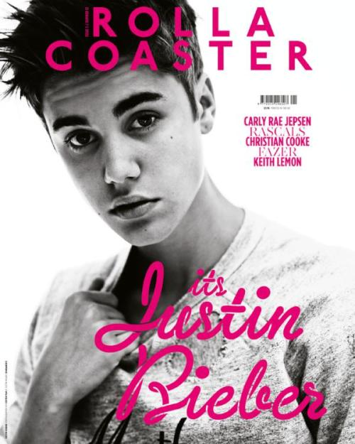 Justin on the cover of the UK's Rollacoaster out July 26th