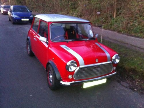 my boyfriends classic mini, check out my blog dedicated to original minis! Your boyfriend is VERY lucky : ). Thanks!!