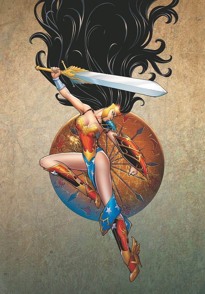 Ame-Comi Girls: Featuring Wonder Woman #1 by Amanda Conner