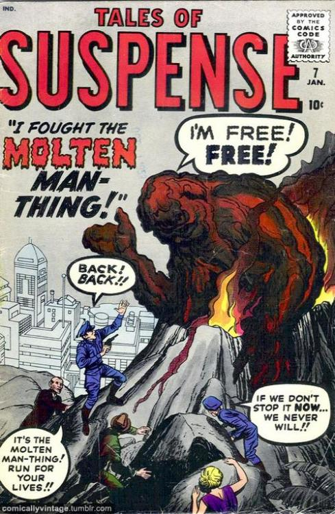 Beware the Molten Man-Thing!