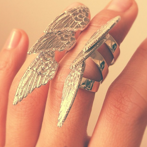 #Wing rings #soraced #recycled #beautiful armour http://instagr.am/p/M8ThVxtd8D/