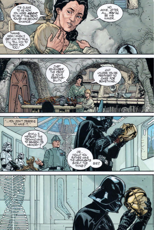 brokenspokeadjacent:  I always enjoy vader's more human side.