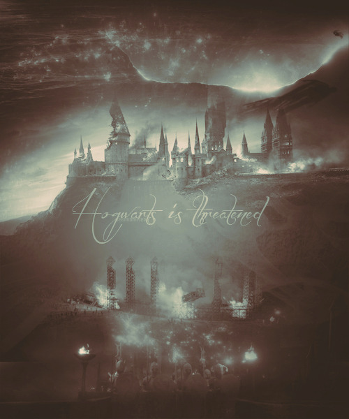Hogwarts is threatened! man the boundaries, protect us!