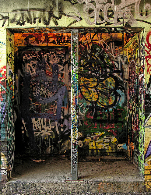inkandchrome:  Doorway to Hell #3 - DSCN3955 ep by Eric.Parker on Flickr.