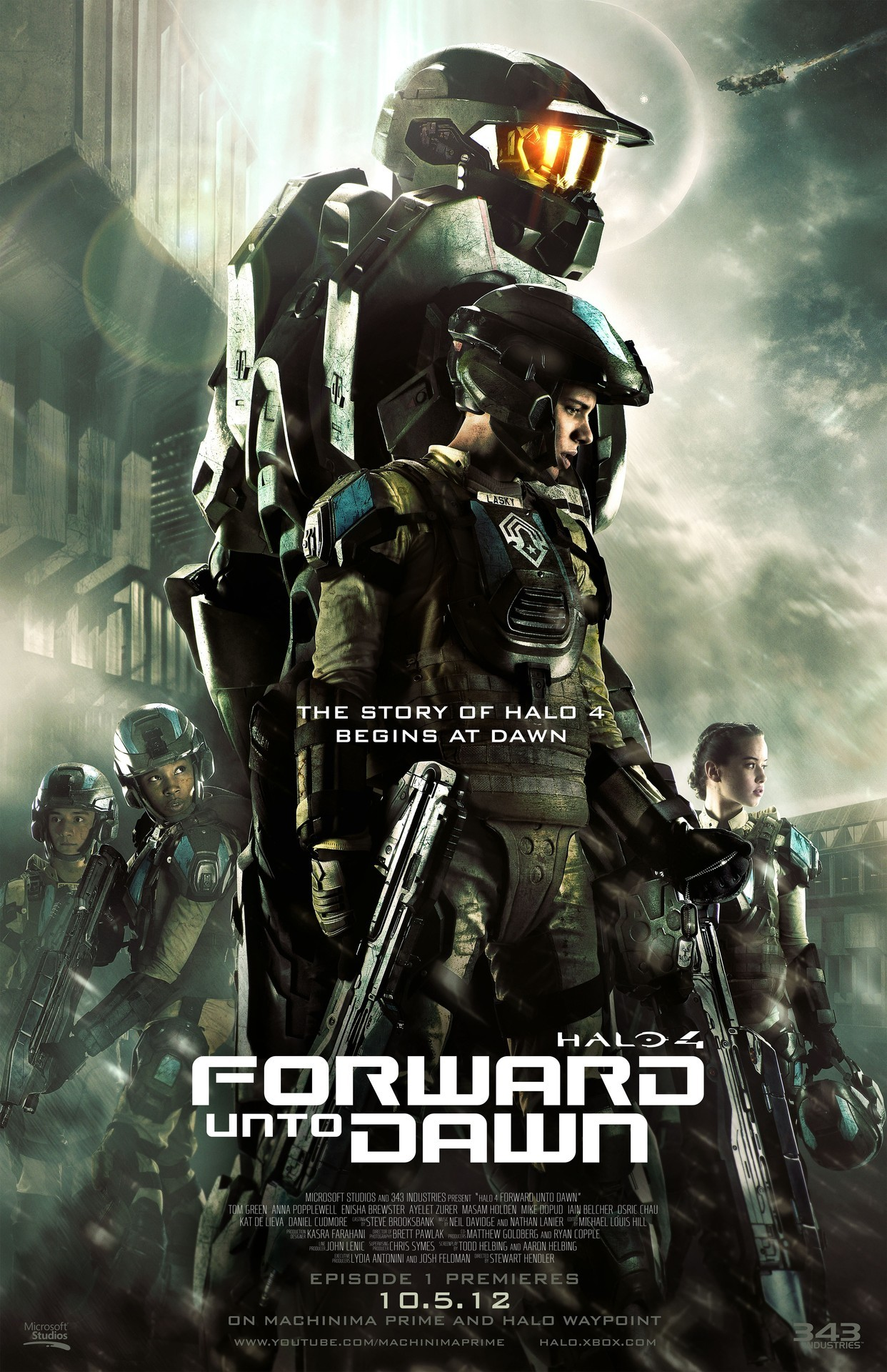 Halo 4 - Forward Unto Dawn Poster The closest thing we'll get to a Halo movie, and it's official.