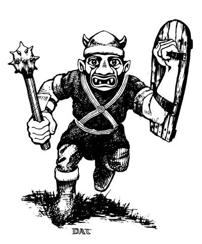 AD&D Goblin from the Monster Manual