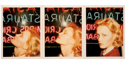 superseventies:  Jessica Lange in triptych, Paris, 1974. Photos by Antonio Lopez.