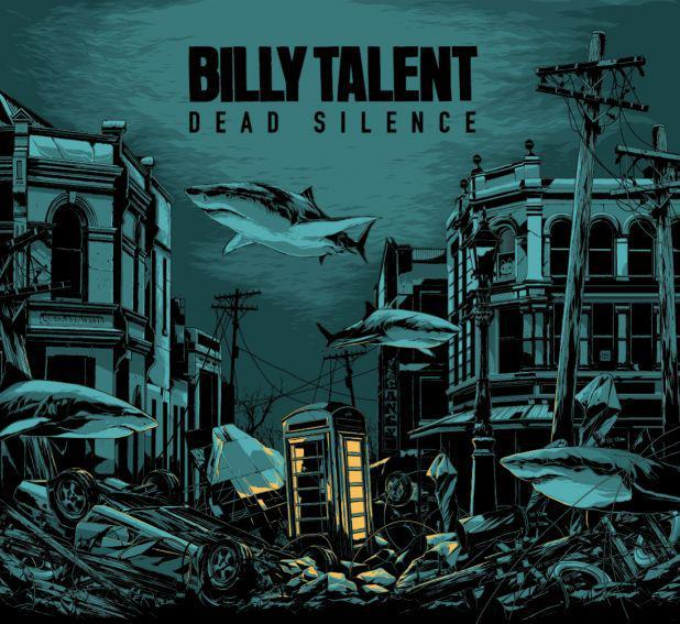 Billy Talent have confirmed that their new album 'Dead Silence' will be out this September! AWESOME!! Also don't forget that they are on the front cover of the next issue of Stencil Mag! WIN!