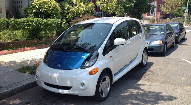 "Little, silver, different. The all-electric car—is Mitsubishi's ""green"" city car worth the cash? Full story: http://bit.ly/NrKDKG"