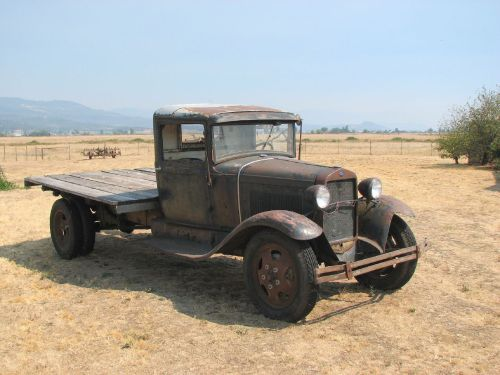 1931 Ford Model AA. A reminder of harder times. Photos from David Berry's Rusty Old Trucks photoset.