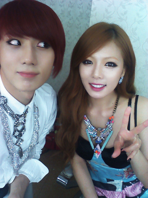 Source; 4minute HyunA's Twitter