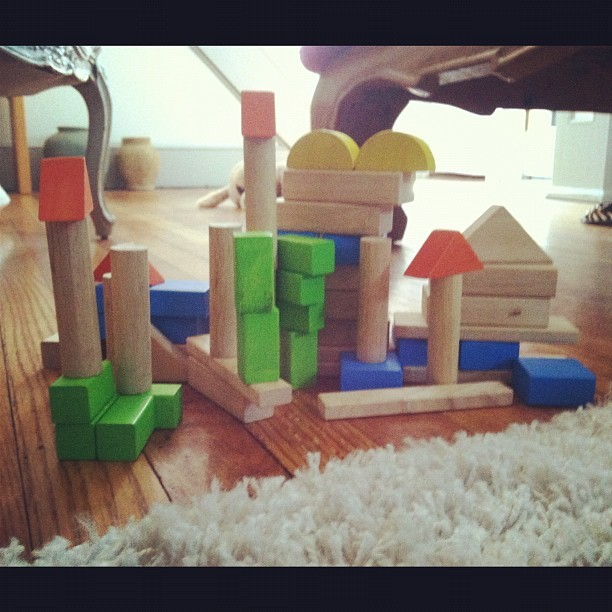 Ryan builds Mom a castle after visiting Kip's Castle Park in Verona, NJ (Taken with Instagram at Muse Summer Home)