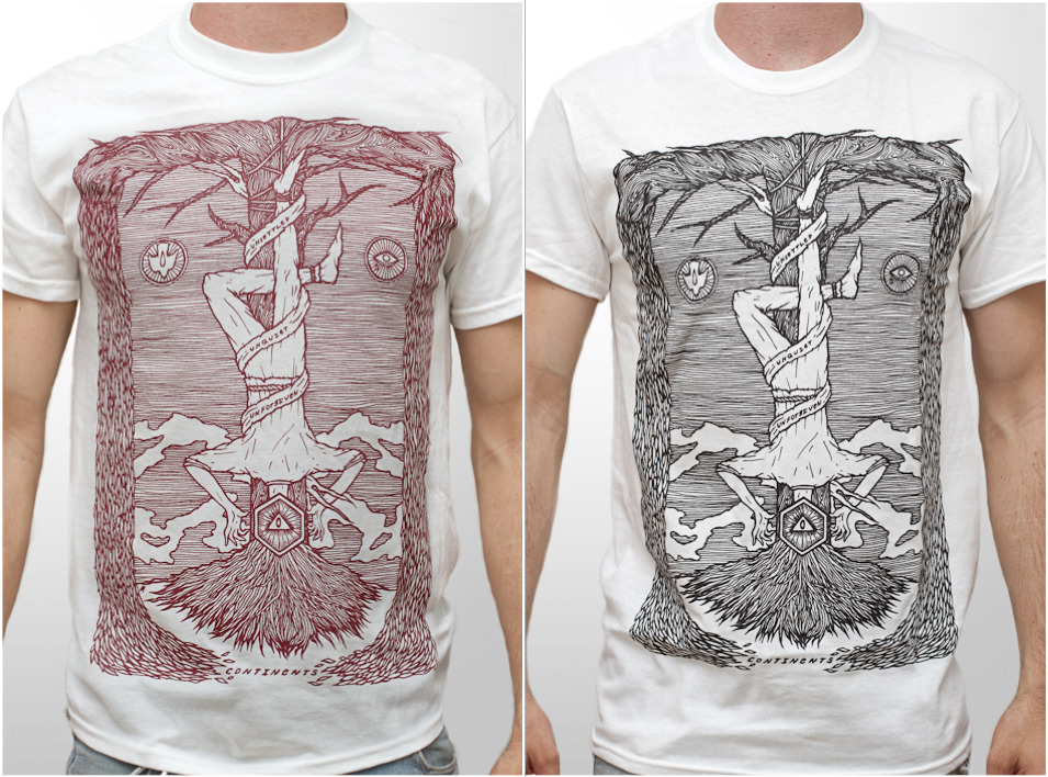here are the shirts i designed for Continents. visit their bigcartel store for more stuff Sizes: - S - M - L Shirt: - GILDAN Heavy Cotton - Design by MONSTER ALPHABET - COLORS: white - PRINT: black | red Postage: - Germany 2,20 € - Worldwide 5 €
