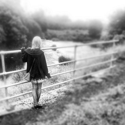 Choirstaidh at the river.  #girl #river #water #nature #walking #outside  (Taken with Instagram)