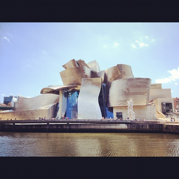 Guggenheim Museum Bilbao - out of this world awesome