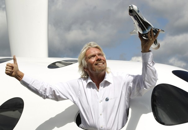 Richard Branson announces new Virgin Galactic satellite launcher: LauncherOne…
