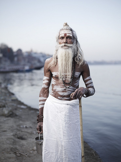 compascadastru:  Portrait of Baba Vijay Nund by joeyL.com on Flickr.