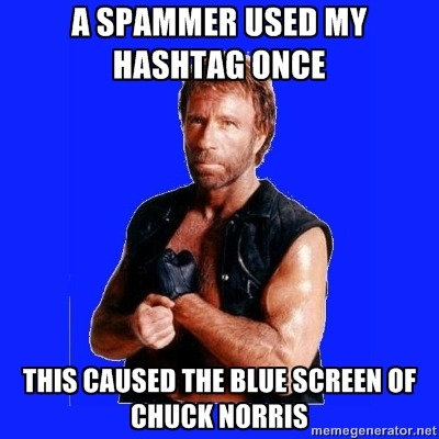 Not loving the #PPCchat spammers.. @ksaxoninternet