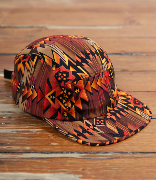 Tantum - 5 PANEL CAMP CAP NAVAJO - 99.00 AUD  follow http://5-panel-caps.tumblr.com/ for more 5 panels   and http://woodxlife.tumblr.com/