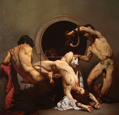 maddhatts:  by Roberto Ferri