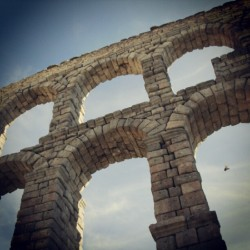 #ThrowbackThursday: #Aqueduct in #Segovia, #Spain   (Taken with Instagram)