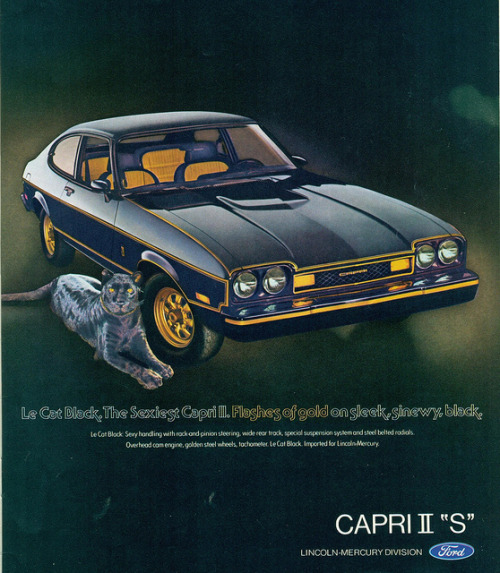 1977 Mercury Capri II S  by coconv on Flickr.1977 Mercury Capri II S