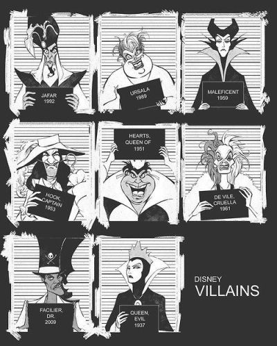 amoelbarroco:  I'm not very fond of Disney, but villains…yeah.