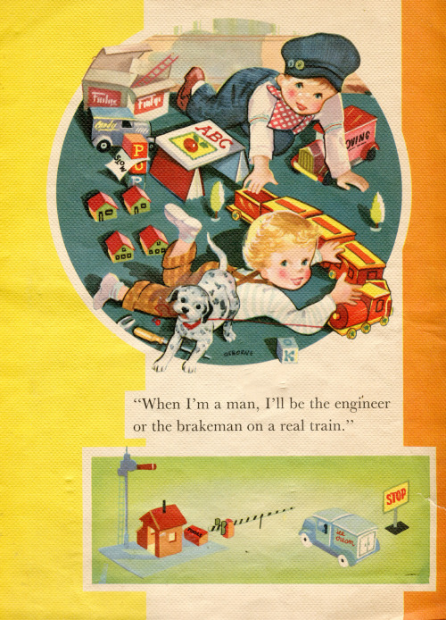 Make Believe Picture Book - ©1952, James & Jonathan Company, Kenosha Wisconsin