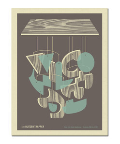 Wilco  Limited Edition screen print commemorating Wilco's show on July 2, 2012 at Mayo Civic Center in Rochester, MN Proceeds to benefit the Northland Red Cross' relief fund for the recent flooding in the Duluth area.
