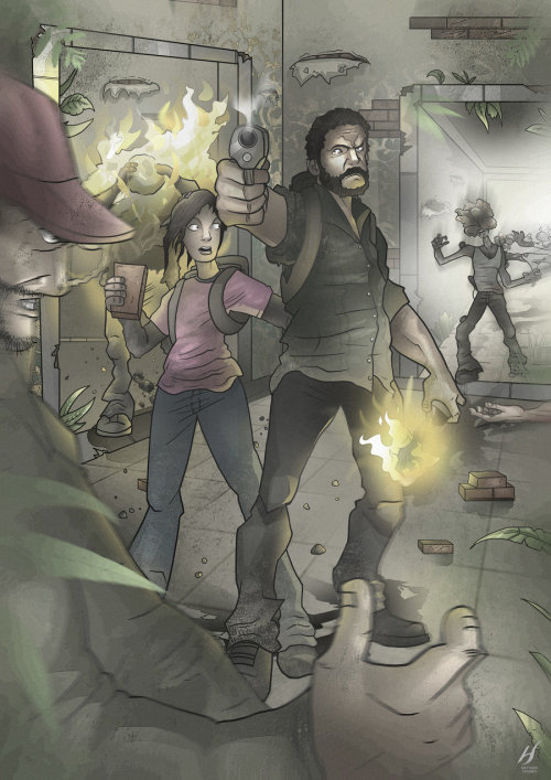 """The Last of Us"" by: Hoggy-Hogben"